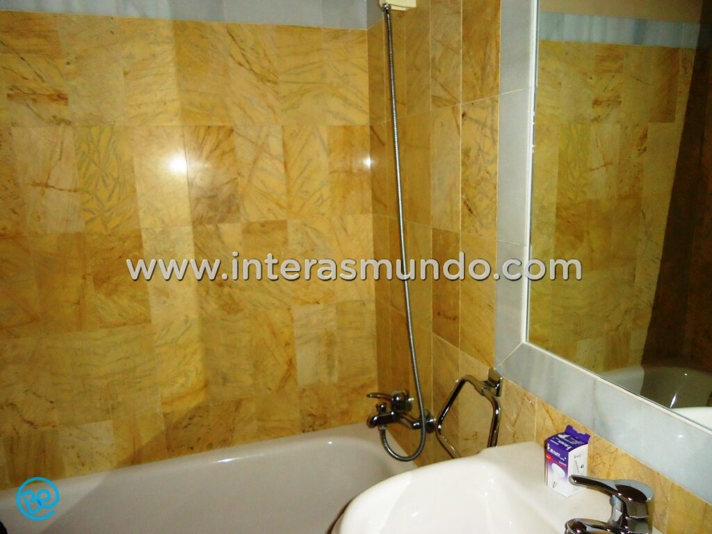 Room with private bathroom